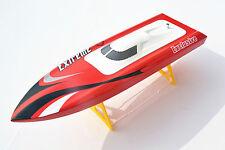 M455 Millet Fiber Glass RC Racing Boat 3100KV Motor Electric 30A ESC RTR Battery