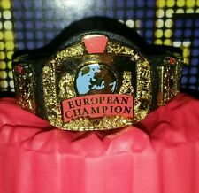 WWF European Championship - Mattel Belt for WWE Wrestling Figures