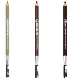 Eyebrow Pencil Super Brows , Blonde, Brown or Dark Brown with Brush By W7
