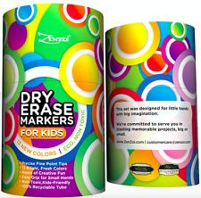 Dry Erase Markers Marker Set For Kids Board Fine Point 13 Color Bulk by ZenZoi