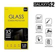 Samsung Galaxy S2 Displayschutz Panzer Glas Echt Panzerfolie Panzerglas 9H