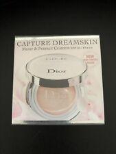 DIOR CAPTURE DREAMSKIN - Moist & Perfect Cushion SPF 50-pa Shade000 Sealed 2x15g