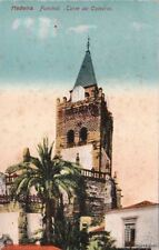 Postcard Torre da Catedral Funchal Madeira Portugal