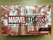 Hot Toys Marvel Studios First 10 Years 10th Anniversary Mini Light Box Red