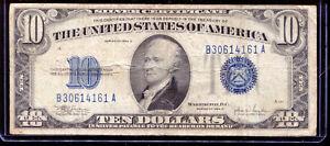 1934-C $10 Silver Certificate B30614161A