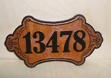 Personalized Door Wood Sign,Mailbox Numbers, House Number,Laser Engraved.Gift.