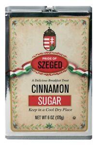 Cinnamon Sugar by Pride of Szeged  6oz. Tin, 1-Count