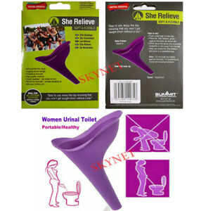 Summit Rubber FEMALE She Relieve Flexible Funnel Portable Urinating Wee Cup Tube