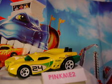 2017 DRAGON BLAST Design PROTOTYPE H-24☆yellow/green;white 5sp;☆LOOSE Hot Wheels