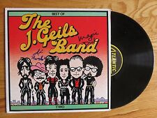 MAGIC DICK DANNY KLEIN signed THE J. GEILS BAND 1980 BEST OF TWO Record COA