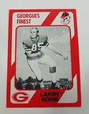 Larry Kohn Georgia Bulldogs UGA Dawgs 89 Collegiate Collection Greenville SC NM