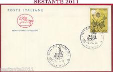 ITALIA FDC CAVALLINO ANDREA PALLADIO 1991 ANNULLO MONTAGNANA PD T785