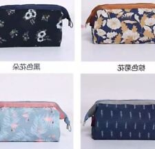 New Wired Toiletry Cosmetic Make Up Bag Makeup Organizer-Black