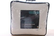 Bloomingdale's Full/Queen Down Comforter My Warmer Lightweight 400 Tc A9X188