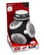 """STAR Wars BB-9E 9"""" peluche parlante con luci grande Nuovo di Zecca Regalo Giocattolo Morbido"""