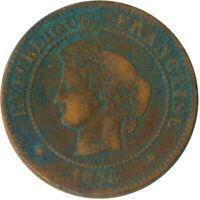 1876 / 5 Centime France  #WT6306