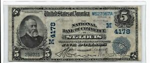 1902-five dollar  national currency   [ date back ]