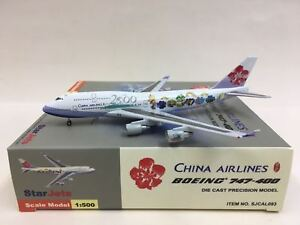 """Star Jets China AIrlines """"Millenium 2000"""" Boeing 747-400 1:500 SJCAL093"""