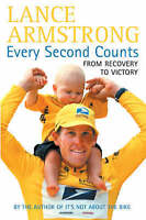 Every Second Counts by Lance Armstrong, Good Book (Hardcover) FREE & Fast Delive