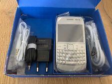 Nokia E6-00 - Silber (Ohne Simlock) Smartphone 100% Original !! Neu !!