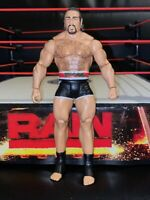 BASIC RUSEV WWE Mattel action figure HAPPY DAY kid toy PLAY Wrestling Raw
