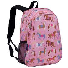 Children's Pink Horse Backpack With Side Pocket | Horse Backpack | Wildkin Bag