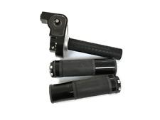 Throttle Handle Set Aluminum - Black