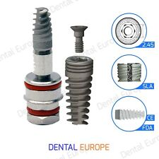 Spiral Dental Implant Sterile & Ready to use Blisters tubes and package cartons