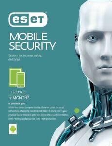 ESET Mobile Security & Antivirus 2021, 1 Year, 1 License - Authorised Reseller