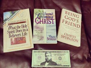 Charles H. Spurgeon 3 Book Lot BONUS