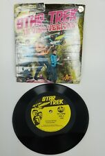 Star Trek Little Lp Record In Vino Veritas 33 1/3 Rpm Vinyl 7""