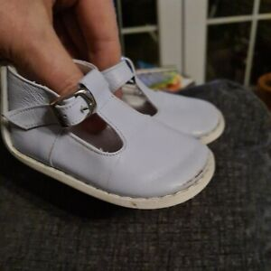 Pex Baby Boy Size 18 age 6-9 months blue Leather Shoes With Comfort Sole