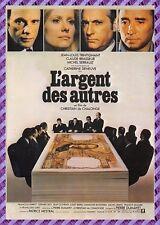 Carte Postale Affiche de Film - L'ARGENT DES AUTRES