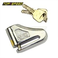 Motorcycle Scooter Padlock 7mm Pins Anti-theft Disc Disk Brake Security Lock New