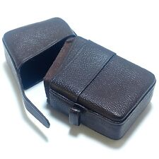 Minox Pouch for A Bulb or B B4 Cube Flash Leather Tongue and Loop Flashgun Case
