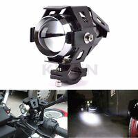 Motorcycle Car Boat Truck CREE U5 125W White LED Fog Headlight Spot Light Lamp