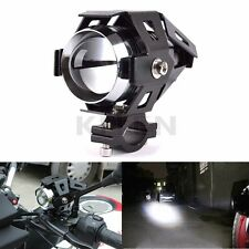 Motorcycle Car Boat Truck CREE U5 125W White LED Fog Headlight Spot Light Lamp