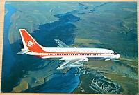 41210Ak Avión Air Algerie Boeing 737 -200 Twinjet Argelia Vuelo Plana