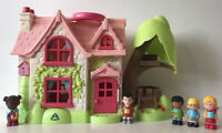 ELC Happyland Cherry Lane Cottage + 5 Figures