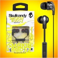 Skullcandy SMOKIN' BUDS 2 In-Ear Earphones Headphones w/Mic Headset (Black) New
