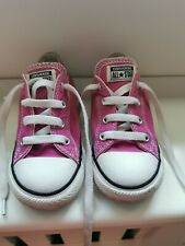 Very Good Condition Cosmic Pink Converse Infant 9