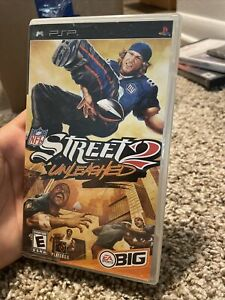 NFL Street 2: Unleashed (Sony PSP, 2005) Complete w/ Manual TESTED