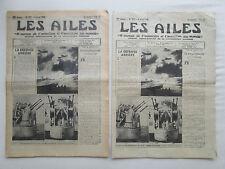 AILES 1940 975 GUERRE AERIENNE DORNIER DO-19 FIESELER 167 GRAF-ZEPPELIN XB-24
