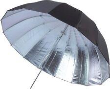 "GTX Studio 63"" Black/Silver Umbrella w/16 Fiberglass Panels"