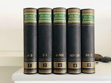 Brockhaus Enzyklopädie 3 Auflage 1962
