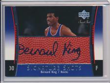 BERNARD KING 2004 05 UPPER DECK SWEET SHOT SIGNATURE SHOTS AUTO KNICKS