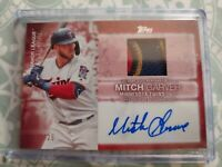 2020 Topps Series 2 Mitch Garver Major League Material Auto/Relic /25 MJMA-MG