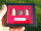 Old Rare Antique Civil War Relic Bullets Button CSA & US Miniballs Appomattox VA
