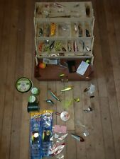 New listing Plano Tackle Box With 36 Lures