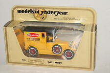 MATCHBOX MODELS OF YESTERYEAR Y-5 1927 TALBOT, TAYSTEE ENRICHED BREAD, BOXED